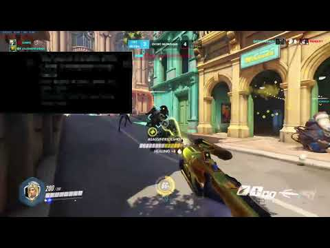 Overwatch ps4 master mercy gameplay (bad lol)