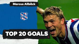 ⚽ TOP 20 GOALS   Marcus Allbäck ??
