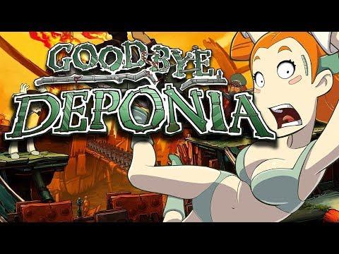 Goodbye Deponia – Game Movie (All Cutscenes / Story Walkthrough) 1080p HD