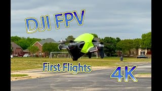DJI FPV Maiden flights