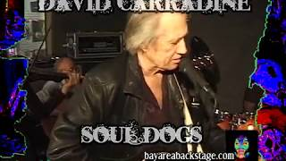 David Carradine Soul Dogs Namm 2009