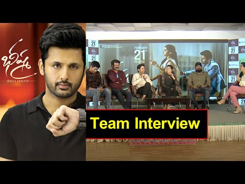 Bheeshma Movie Team Interview