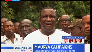 Governor Salim Mvurya embarks on campaigns for Jubilee presidential candidate Uhuru Kenyatta