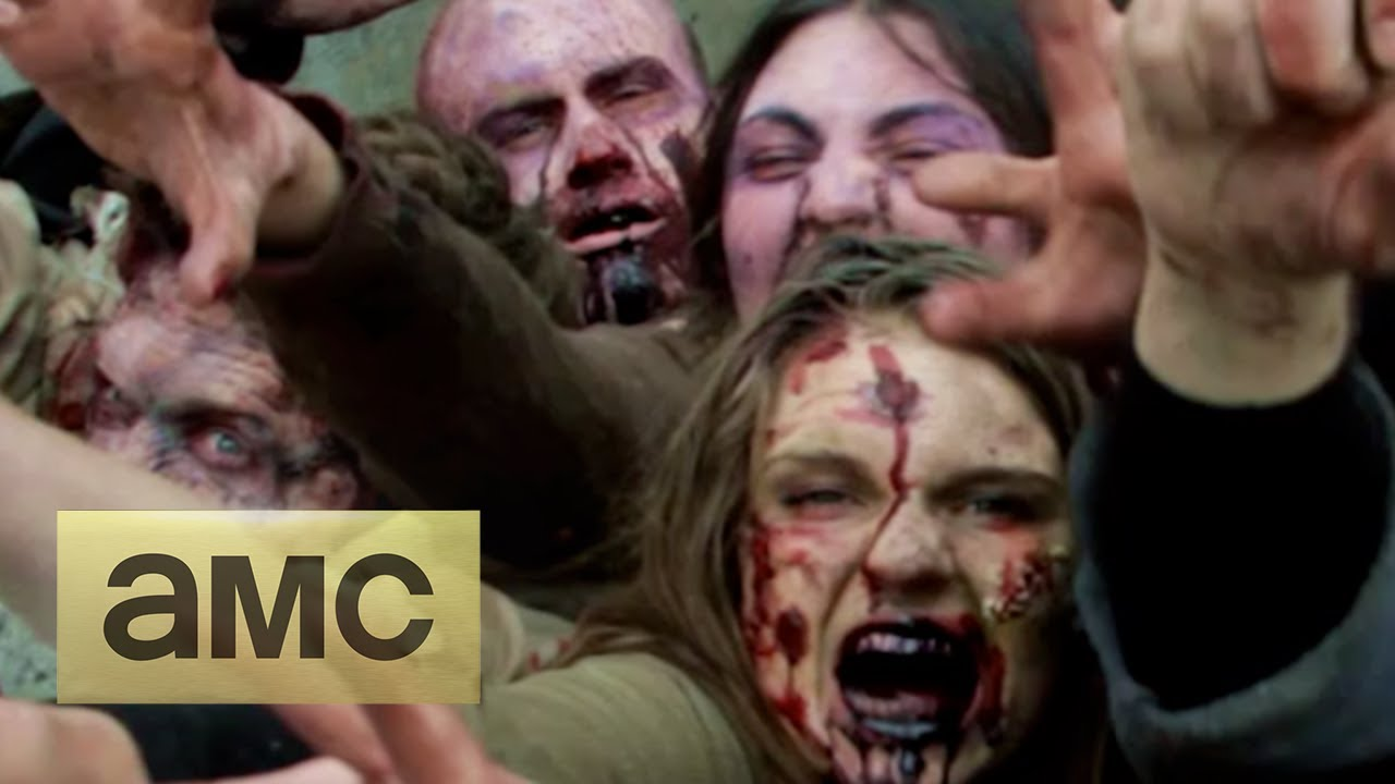 The Walking Dead Hits NYC As Zombies Swipe At You From Under The Street