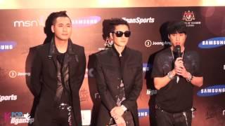 [16/01/2013] Epik High at 27th Golden Disk Awards - Media Interview
