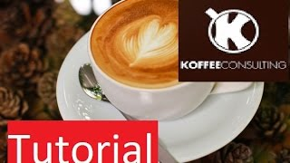 How to make a cappuccino at home without an espresso machine (2nd version) | Barista Training