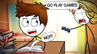 If Gaming And Studying Switched Place