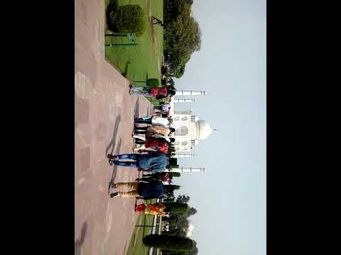 Taj Mahal visiting in summer 2018(3)