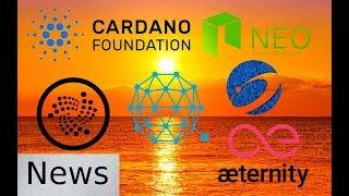 Friday News Roundup - IOTA, Nexus, Qtum, Aeternity, Cardano, & NEO