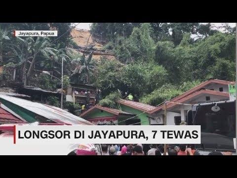 Longsor di Jayapura, 7 Tewas