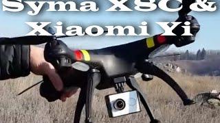 Syma X8C и Xiaomi Yi обзор и полет