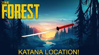 The Forest Katana Location | In 2 Minutes! | PS4 | Xbox | PC | 100% Complete Guide | Works