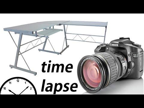 UNBOXING nuevo escritorio de cristal (TIMELAPSE)