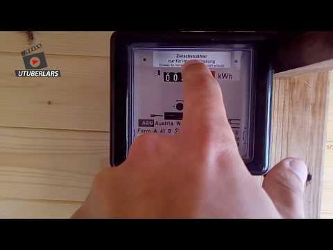 Der Strom-Zähler läuft rückwärts #Balkonkraftwerk #Experiment