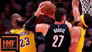 Los Angeles Lakers vs Portland Trail Blazers 1st Half Highlights   11.03.2018, NBA Season