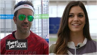 Fans who bragged about their 40 times run actual 40-yard dashes | Always Late with Katie Nolan