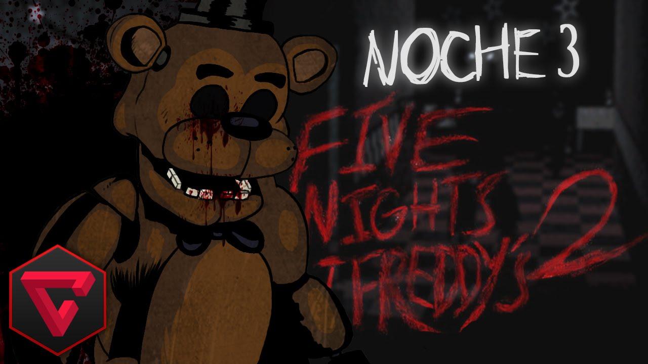 FIVE NIGHTS AT FREDDY'S 2: NOCHE 3 – MUÑECOS DIABÓLICOS VS TOWN | iTownGamePlay (Night 3)