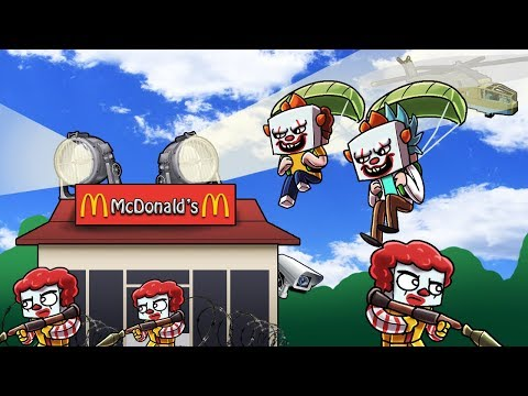 Minecraft   SNEAKING INTO MCDONALDS REALM! (Stealing the Special Szechuan Sauce))