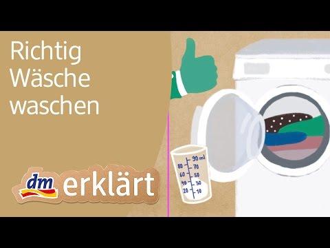 dm erklärt: Wie viel Waschpulver brauchen wir, wenn wir Wäsche waschen?