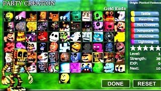 PLAY AS ALL CHARACTERS!! FNaF World Simulator 2018