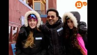 Luis Fonsi, Camila Gallardo & Josefa en Valle Nevado - The Voice Chile