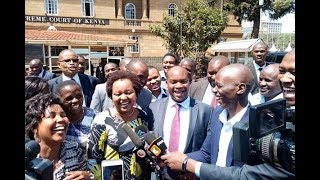 Waiguru trounces Karua at apex court - VIDEO