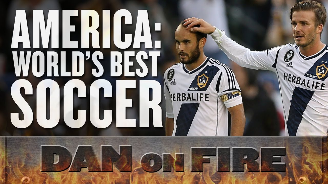 America: World's Best Soccer (Dan on Fire) thumbnail