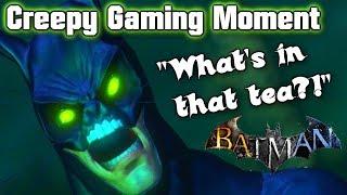 Mad Hatters Tea Party (BATMAN Arkham City) Creepy Gaming Moment