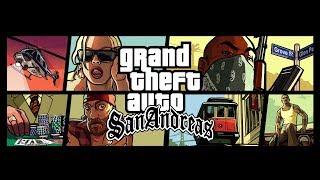 Grand Theft Auto: San Andreas (стрим) слепое женское прохождение: не для слабонервных
