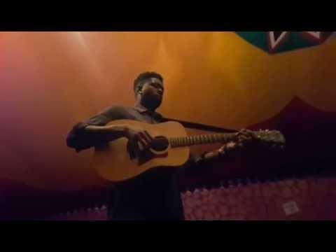 Jake Isaac. Impromptu acoustic. Cambridge #CFF15
