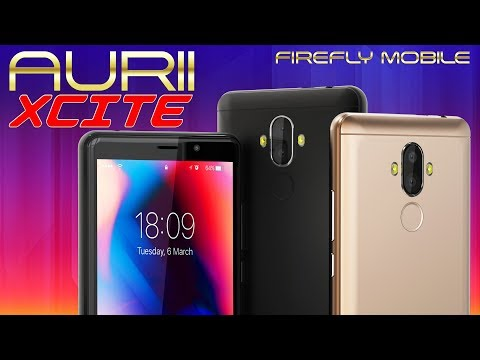 Firefly Mobile AURII XCITE - Redefining the Xtraordinary!