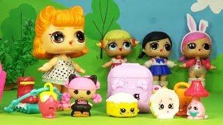 #Мультик Куклы LOL SURPRISE ЛОЛ #SHOPKINS Шопкинсы Видео для Детей Сюрпризы для Кукол Игрушки