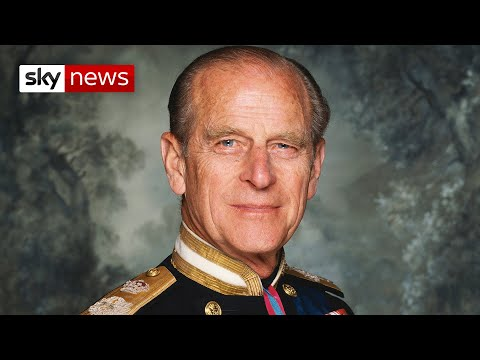 Royals prepare for Prince Philip's funeral