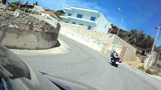 preview picture of video 'me motor south Albania Himare - Jal (june 2011) Part 1'