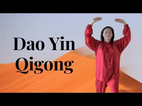 Basic Lian Gong Exercises   Dao Yin Qigong - YouTube