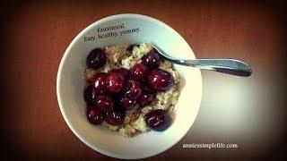 Recipe - Healthy Grain Free Fauxtmeal Breakfast