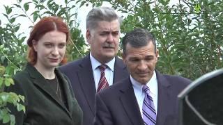 В Борисполе появилась необычная аллея