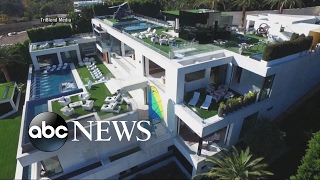 A Tour of a $250M Mansion that Comes with Staff, Art Collection