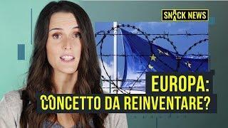 Brexit e partiti anti Euro, Europa in crisi. Come rilanciare l'UE? | Snack News