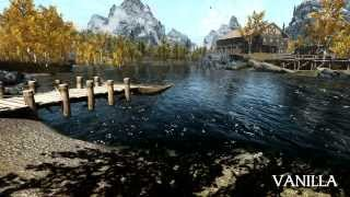 Skyrim: Water Mods Comparison (Vanilla vs WATER vs Pure Waters vs RWT)