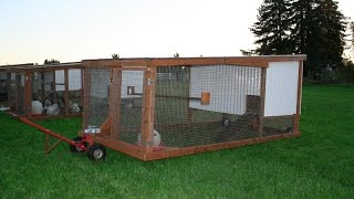 DIY Mobile Chicken Coops  BY MOBILE CHICKENS LLC