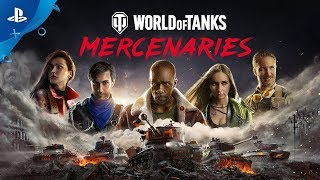 World of Tanks: Mercenaries Teaser | PS4