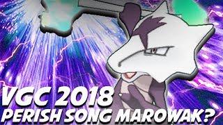 PERISH SONG MAROWAK?! Pokemon Ultra Sun & Ultra Moon VGC 2018 BattleSpot Wifi Battle ShadyPenguinn