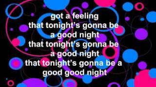 I Got A Feeling, Black Eyed Peas