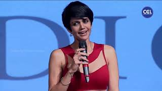 Mandira Bedi Teasing Akhil Akkineni at the 100 Hearts Charity Fashion Show. Glamorus Ramp Walk