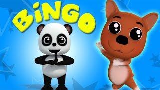 Бинго собака | детские рифмы | Baby Bao Panda | Bingo Dog Song