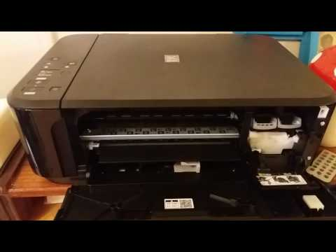 Canon Pixma  MG 3650 : Changing Ink Catridges.