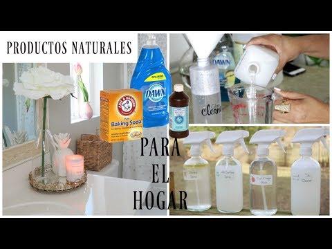 Crea Tus Productos De Limpieza Naturales Para El Hogar