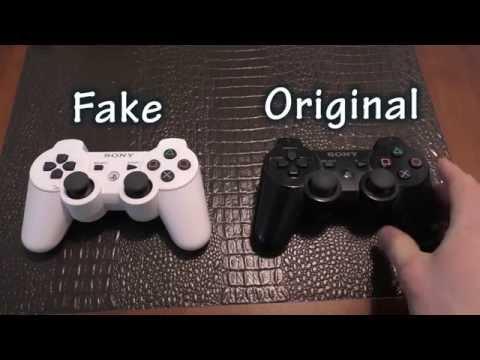 "COMPARISON: PS3 Controller - Fake Ebay ""Hong Kong"" Version vs Sony's Original"