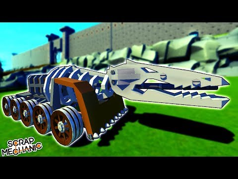 Incredible Fantasy Siege Weapons vs. Giant Castle [MFW]  – Scrap Mechanic Gameplay